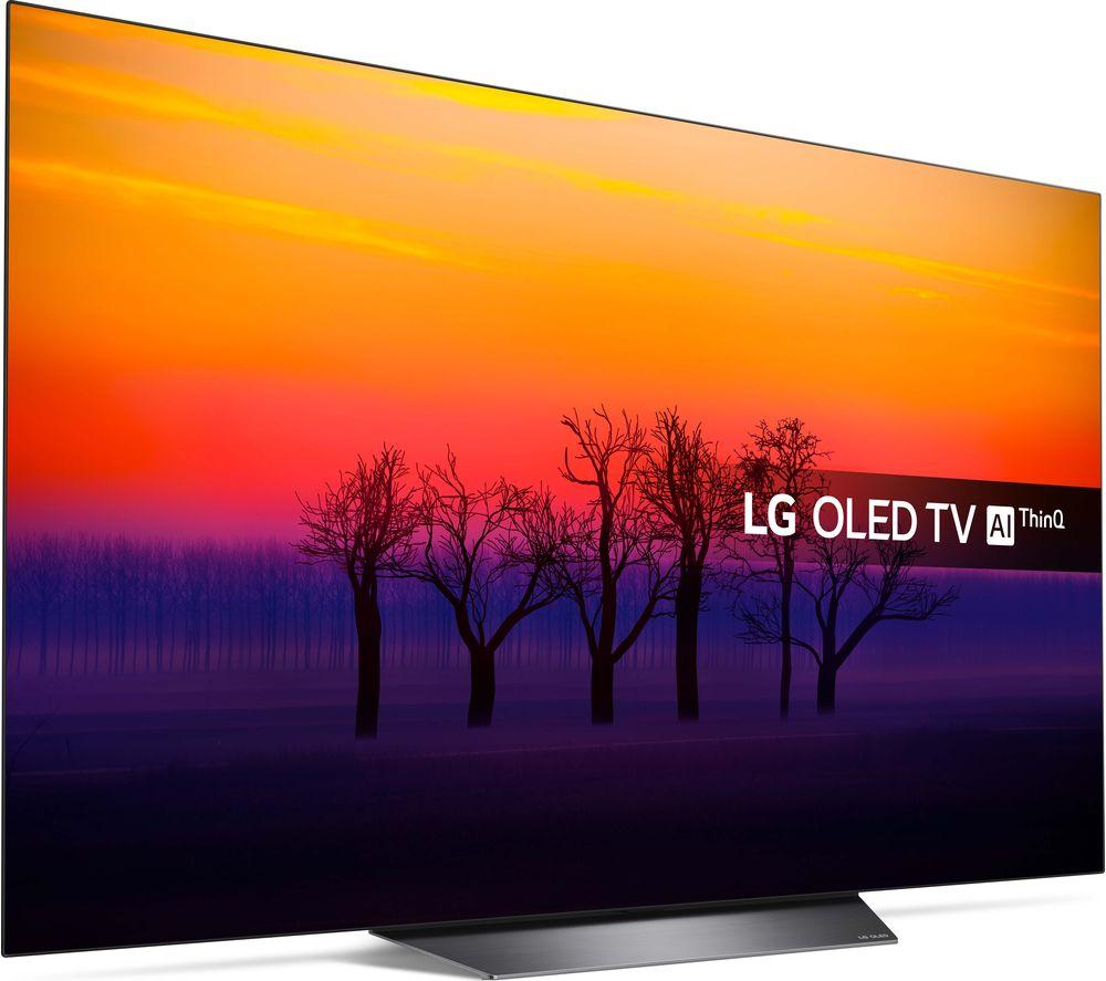 "LG 55"" OLED55B8 (2018) 4K OLED HDR TV £1,499 at Currys + 15% TopCashback on LG TV's over 40"" (£187.38 cashback) effectively bringing the price down to £1,311.63  after cashback"