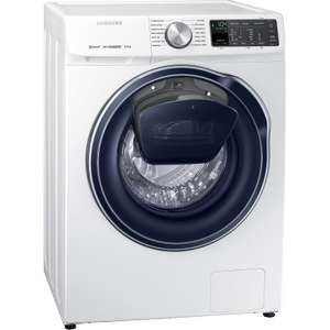 SAMSUNG AddWash ecobubble WW80M645OPM 8KG 1400RPM QuickDrive Washing Machine A+++ Rated £566.10 w/code / £416 after £150 cashback from Samsung @ cramptonandmoore