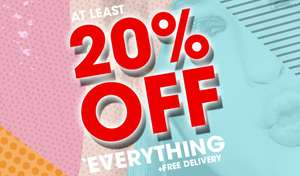 20% Off at tReds (Boots, Shoes, Trainers, etc..) + Free Delivery