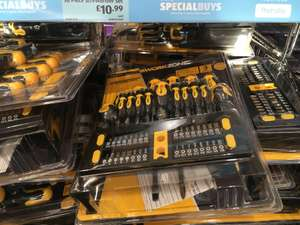 50 screwdrivers £10.99 instore @ Aldi Swansea (also online - Free Delivery wys £20)