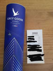 Grey goose £21.06 in store Tesco (Caerphilly)