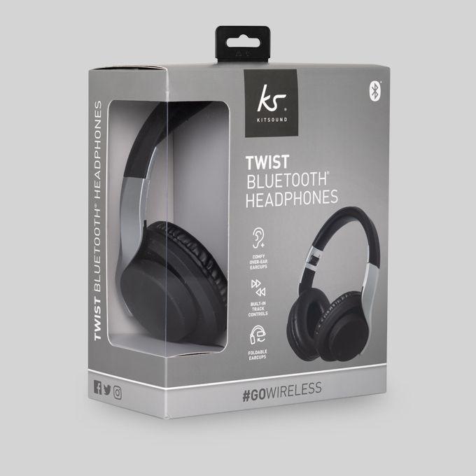 Kitsound Twist Bluetooth Headphones  @ Tesco (Seaton) - £8