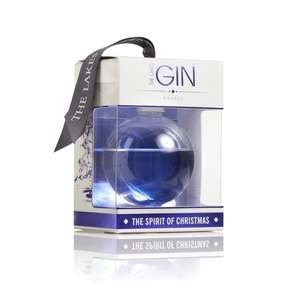 Gin filled baubles. One for £19.99 or 5 for £34.99 @ Find me a Gift