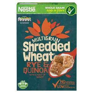 Nestle Shredded Wheat Rye Quinoa 475g £1 @ Heron