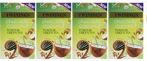 Twinings Chocolate Coconut Sweet Green Tea (Pack of 4) amazon add on item £2.70