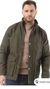 Lyle and Scott Vintage Mens Wax Jacket £49.99 Dark Sage Size XS to L p&p £4.99 or Free with Premier or £75 spend