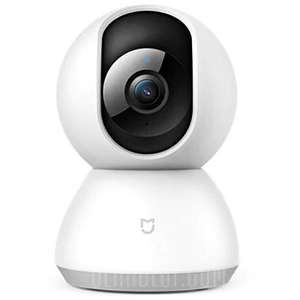 Xiaomi Mijia 1080P Home Panoramic WiFi IP Camera - White £27.90 (cheaper with a fee free) @ Gearbest