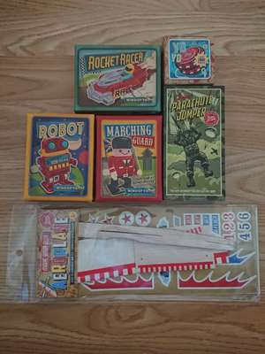 Retro stocking fillers 99p - Home Bargains / Christmas toys