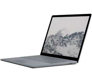 "MICROSOFT 13.5"" Intel® Core™ i5 Surface Laptop - 128 GB SSD, Platinum (RRP 1,199) £749 @ Currys"