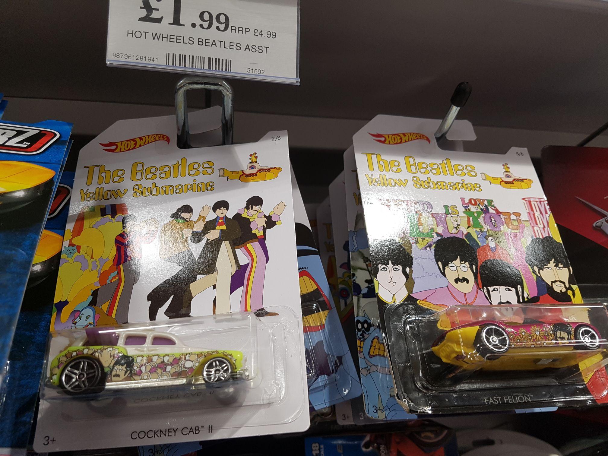 The Beatles hot wheels £1.99 @ home bargains