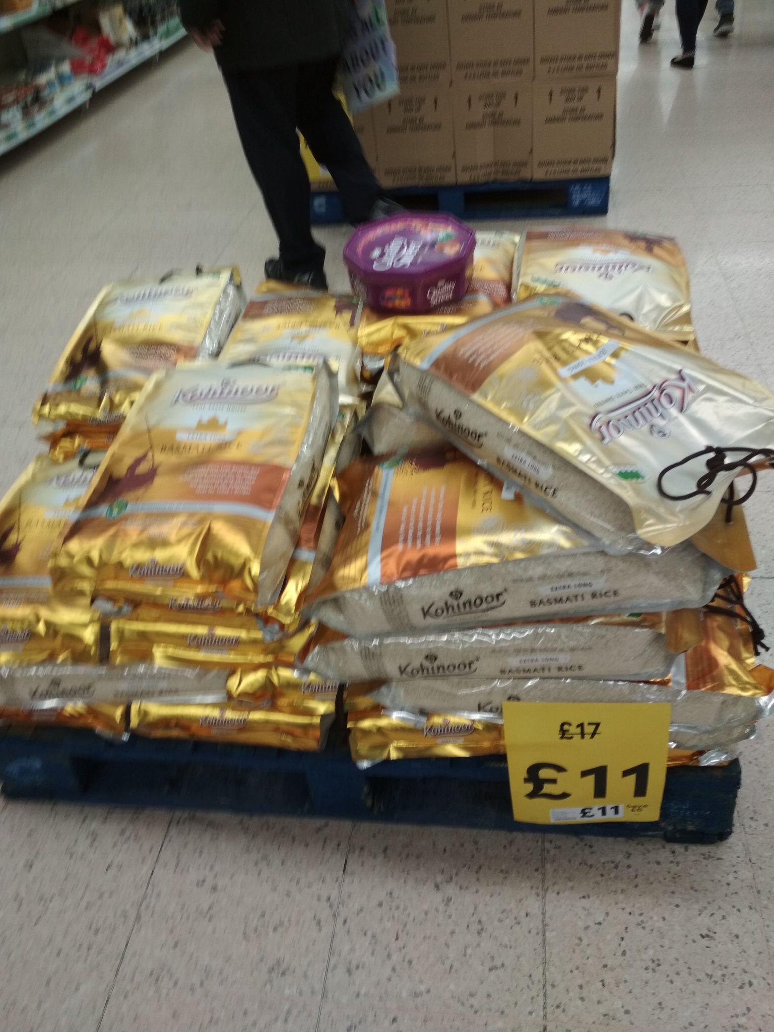 Kohinoor basmati rice (10kg) for £11 instore / online @ Tesco