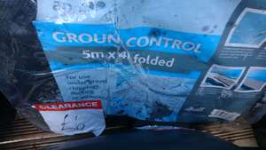 5m x 4m Apollo Heavy Duty Weed Control Fabric reduced to £6 INSTORE @ B&Q (Cwmbran)