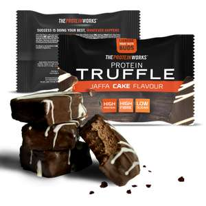 PROTEIN TRUFFLES / PROTEIN NUTTIES 60p each w/codes NUTT80 / TRUFF80 +£2.99 del @ The Protein Works (Max one per customer)
