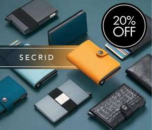 20% off SECRID wallets - London Luggage Co