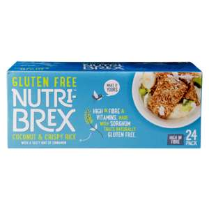 Nutri-brex Coconut & Crispy Rice 75p at Asda Southampton