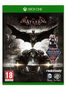 Batman: Arkham Knight with Harley Quinn DLC Xbox One £9.99 delivered @ GO2GAMES