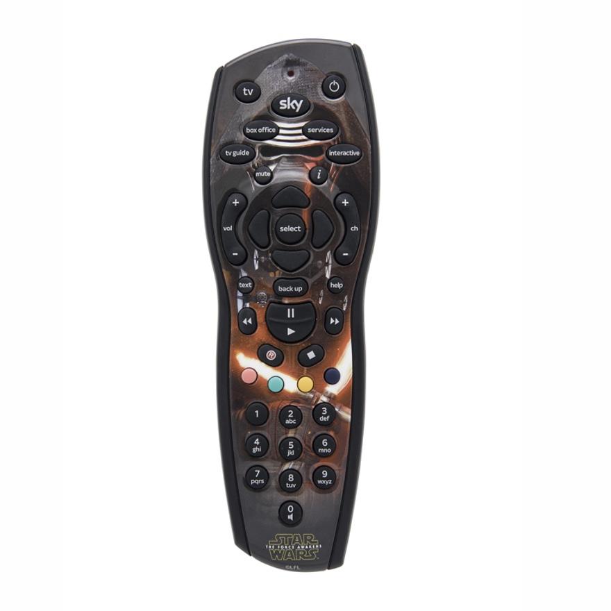 Star Wars Sky+ HD Remotes e.g. Kylo Ren, Darth Vader, Yoda -  £8.99 (plus £1 postage) @ Sky Accessories