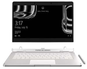 Porsche Design Book One 2-in-1 Laptop (RRP £2500) - i7, 16GB Ram, 512GB SSD, 3200x1800 IPS Touchscreen - £999.98 @ eBuyer