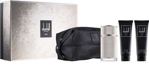 Dunhill Icon Eau De Parfum 100 ml + Shower Gel 90 ml + Aftershave Balm 90 ml + Cosmetic Bag @Notino - £34.78