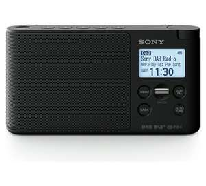 Sony XDR-S41D Portable DAB/DAB+ Wireless Radio with LCD Display - Black at Argos for £34.99