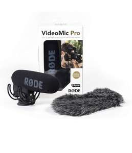 RØDE VideoMic Pro-R On-Camera Microphone with FREE Windshield was £114.81 now £108.44 Amazon