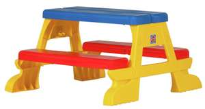 Chad Valley Plastic Foldable Picnic Bench  now £14.99 Delivered @ Argos / eBay