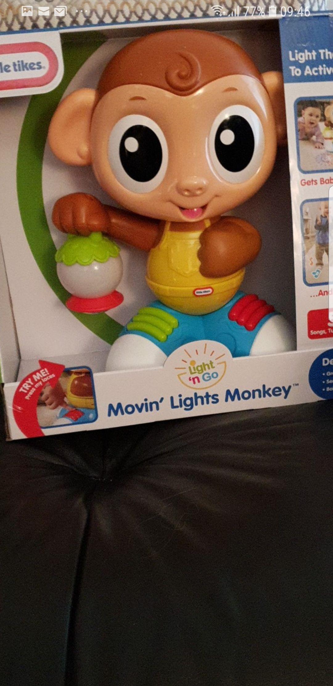Little tikes movin lights monkey £15 online / instore @ Tesco