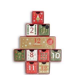 12 Festive Brain Teasers Advent Calendar Tree inc Wooden / Metal Puzzles + more £10 C+C @ M&S