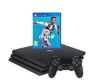 PS4 Pro 1TB Plus 4 Games FIFA 19 , God Of War , The Last Of Us Remastered, Uncharted 4: A Thief's End £372 w/ O2 Priority Code £372 @ AO