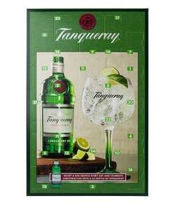Tanqueray gin advent calendar £13 / Famous Grouse Whisky Calendar £13 and Baileys Advent Calendar £18 @ Debenhams