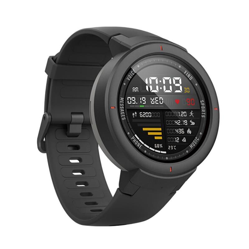 International Version - AMAZFIT Verge IoT 1.3'' AMOLED Color Screen IP68 Waterproof Smart Phone Watch GPS Heart Rate Monitor Fitness Smart Bracelet Wristband - £125.17 @ Banggood