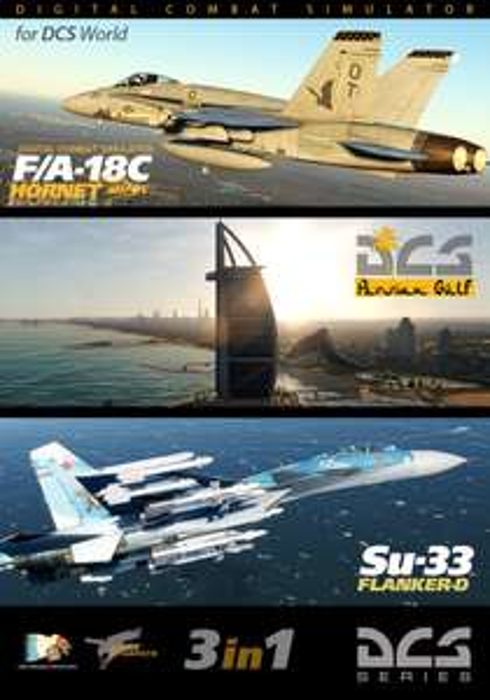 DCS World bundle: F/A-18C + Su-33 + Persian Gulf Map - £68.95 @ Digital Combat Simulator