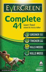 Evergreen Complete Lawn Feed, Weed & Moss Killer Refill Bag - 12.6kg - £15 @ Wickes