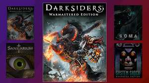 [PC] Twitch Prime Games for October (Darksiders Warmastered Edition / Sanitarium / SOMA / System Shock Enhanced Edition)