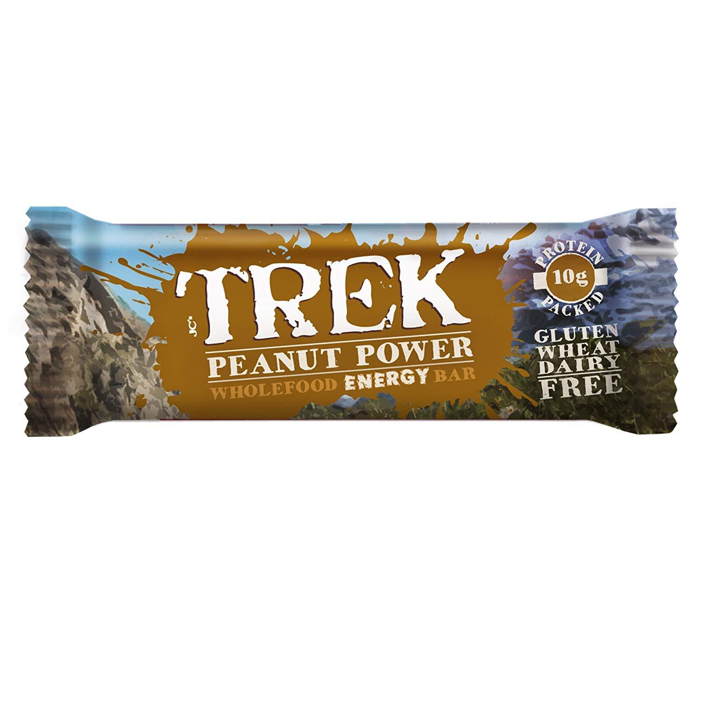 Trek Energy peanut bars £10.50 with voucher! Prime @ Amazon (£4.49 delivery non prime)