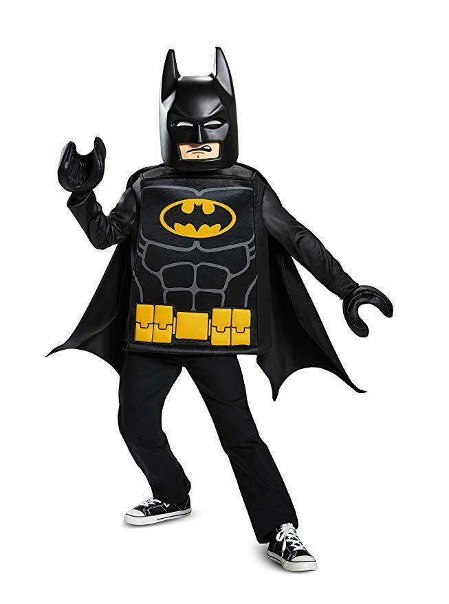 Batman Lego Costume, £13.95, Amazon Prime (£4.49 delivery non prime)