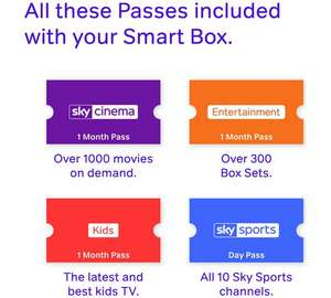Now TV Smart Box with 4K, Voice Search, Netflix app and 4 Now TV passes. £39.99 Argos
