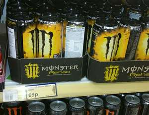 MONSTER ENERGY DRINK REHAB 500ML only 69p at  Poundstretcher WOW