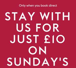 Stay for just £10 on Sunday nights in October (Multiple Locations) @ Village Hotels