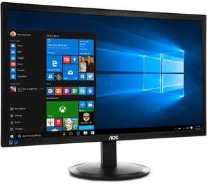 """AOC Full HD 21.5"""" LED Monitor W/ 5 Ms Response Time, 76 Hz Refresh Rate & 3 Year Guarantee £44.97 @ Currys Clearance (Free C&C only)"""