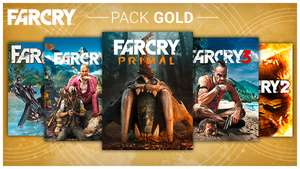 Far Cry 1-4 + Primal on Uplay 65% discount - £28 + Possible extra 20% off with 100 Uplay points. (£22.40) RRP - £79.99 @ Ubi