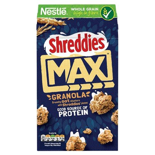 Nestle Shreddies Max Oat Granola - Half Price - £1.30 @ Tesco