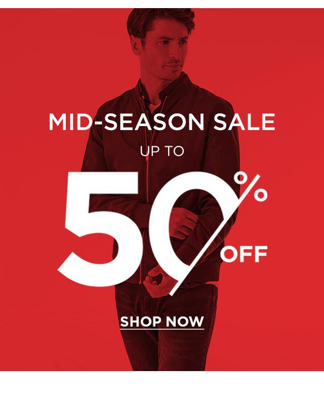 Burton mid-season sale with up to 50% off