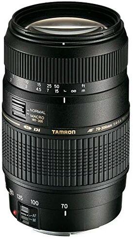 Tamron AF 70-300mm F/4-5.6 Di LD Macro 1:2 Nikon+Motor £99 @ Amazon