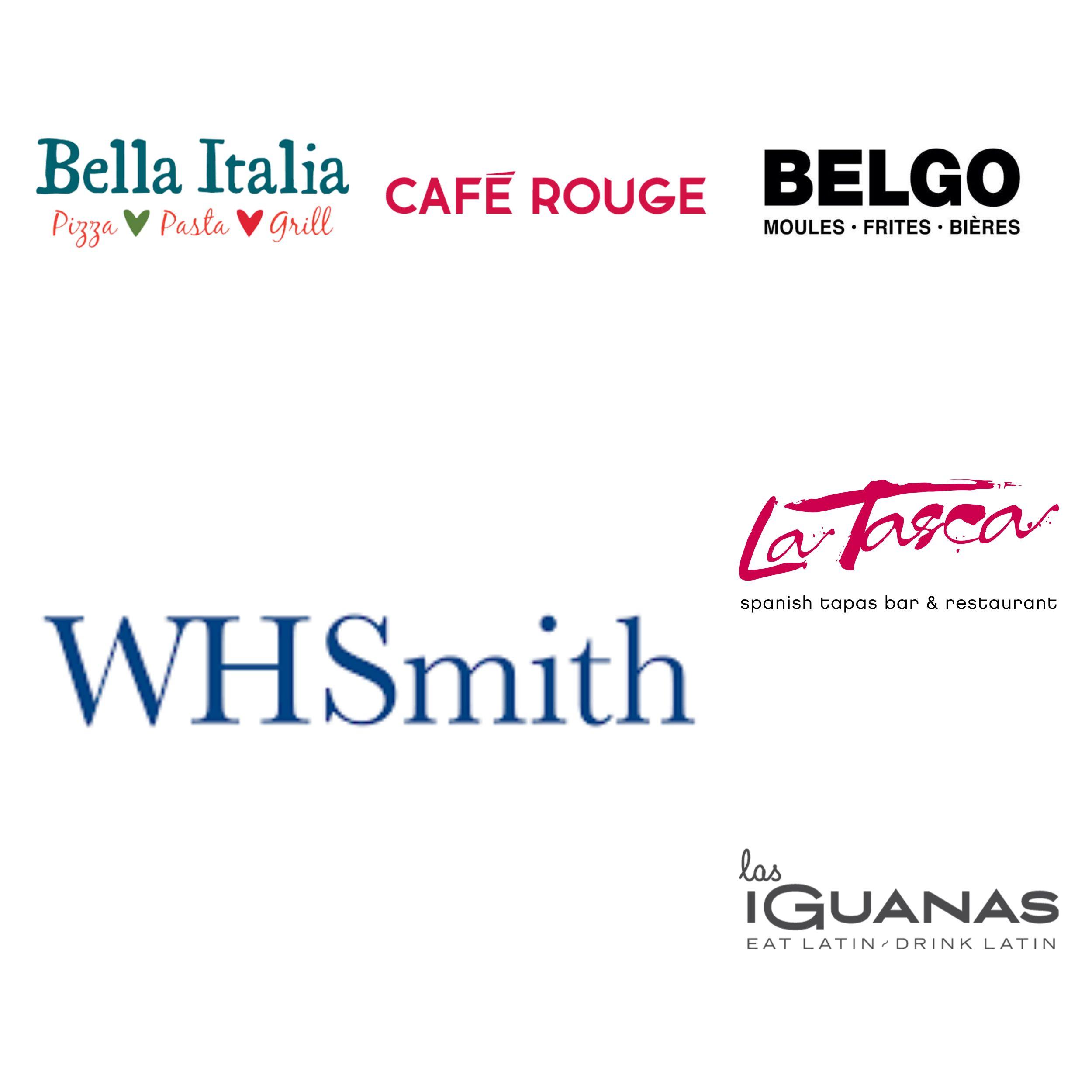 £2 WHSmith Meal Deal OR Free Greggs Hot Drink OR £3 Bella Italia/Café Rouge/La Tasca/Belgo/Las Iguanas + Free Gym + Deliveroo £4 off @ Wuntu