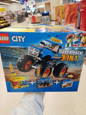 Lego City Super pack 3 in 1 £20 Tesco  instore