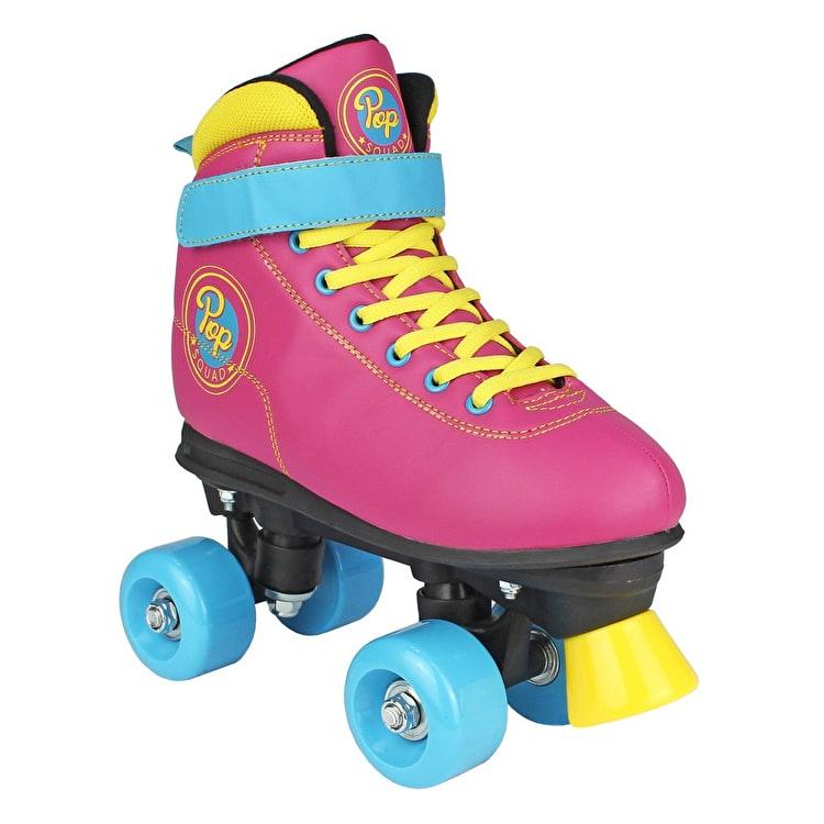 Pop Squad Malibu Quad Roller Skates - Funky Pink - ( Amazon Price £30 - £40 ) £19.95 / £21.94 delivered @ Skate hut