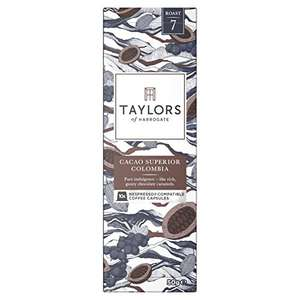 Amazon , Taylors of Harrogate Nespresso 60 pods for £12.00 - 20p each Prime exclusive