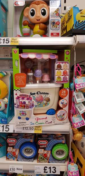 Gourmet ice cream cart £12.50 @ Tesco extra instore