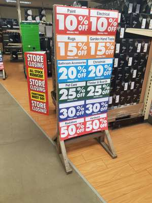 Homebase Clearance store closing down - New Southgate various good deals to be had